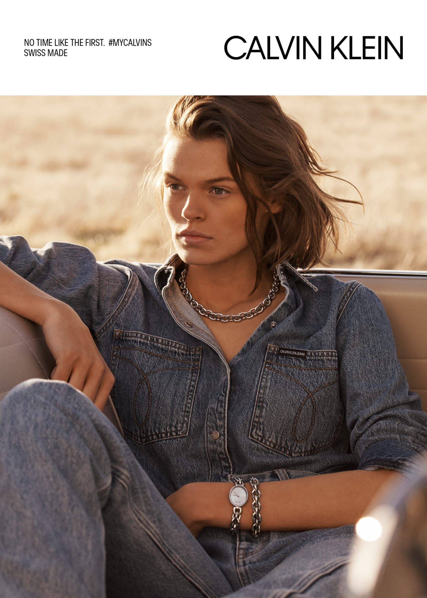 Interesante nueva campaña de Calvin Klein Watches & Jewellery