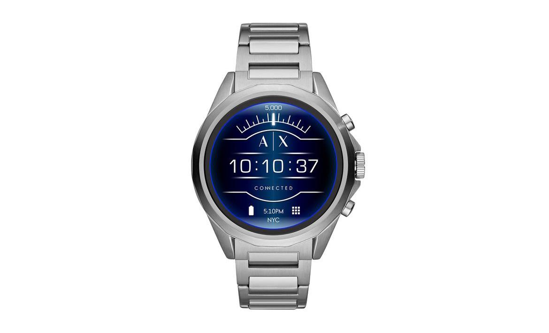 El primer reloj inteligente de Armani Exchange ha llegado