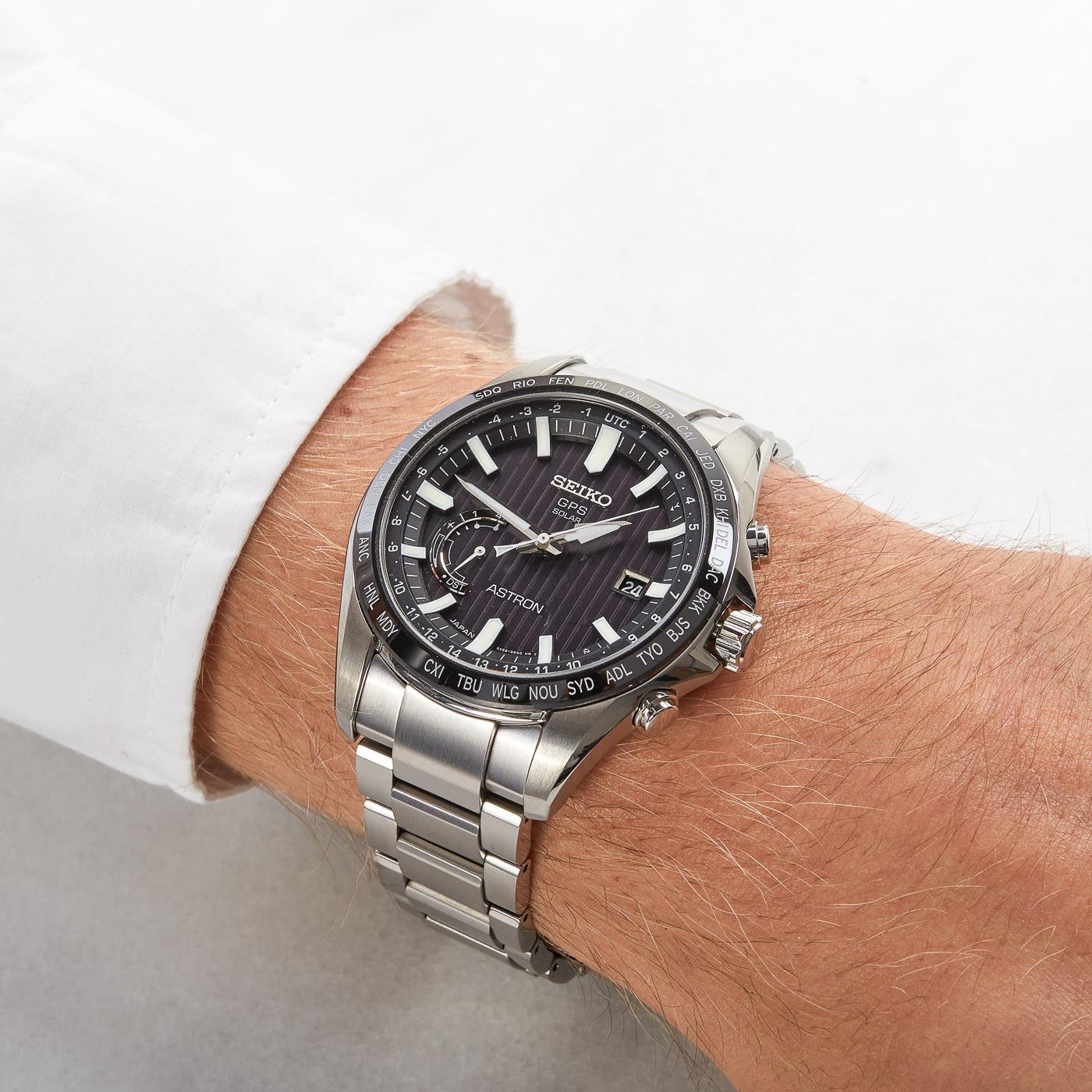 Seiko Astron, el reloj de titanio ideal para este verano