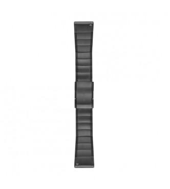 GARMIN Correas de reloj QuickFit™ 26, acero inoxidable gris pizarra