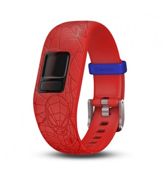 GARMIN Pulsera vivofit jr 2 pulsera ajustable Spiderman roja 010-01266-17