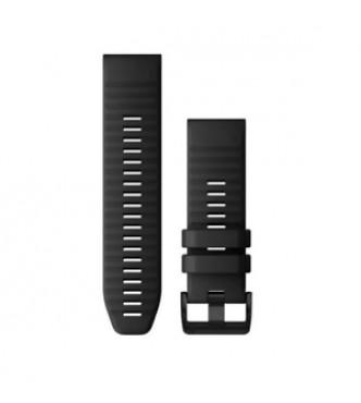 GARMIN 010-12864-00 Correa QuickFit 26 mm silicona negra con hebilla negra