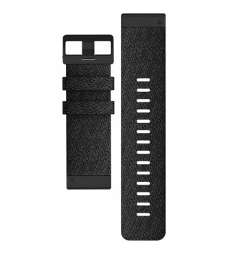 GARMIN 010-12864-07 Correa QuickFit 26 mm nylon negra con hebilla negra