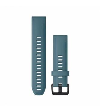 GARMIN 010-12870-00 Correa QuickFit 20 mm silicona azul con hebilla negra