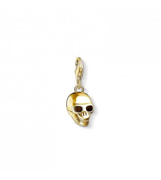 Thomas Sabo Charm pendant 925 Sterling silver, gold plated yellow gold yellow gold-coloured