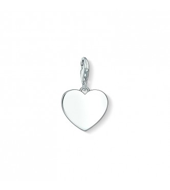Thomas Sabo Charm pendant 925 Sterling silver silver-coloured