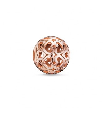 Thomas Sabo Bead hearts 925 Sterling silver,
