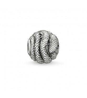 Thomas Sabo Bead snake 925 Sterling silver/ zirconia black