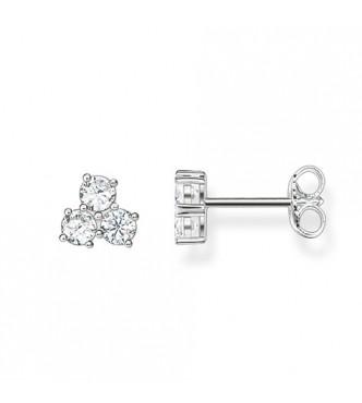 Thomas Sabo ear studs 925 Sterling silver/ zirconia white