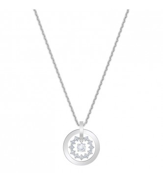 SWAROVSKI 5499001 FURTHER:COLLAR CIRCLE CZWH/CRY/RHS NECKLACE