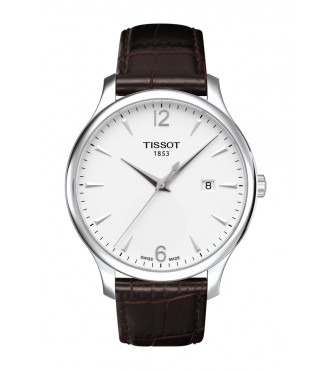 TISSOT Classic TRADITION/BGR/Q/STEEL/BROWN/SILVER .DIAL