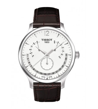 TISSOT Classic TRADITION/BGR/Q/STEEL/L.BROWN/SILVER