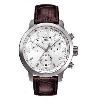 TISSOT Sport PRC 200/GR/CHRQ/STEEL/LEA.BROWN/WHITE