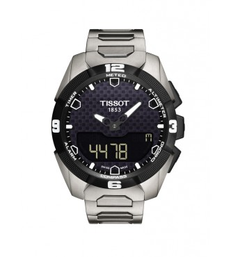 TISSOT Tactile T-TOUCH SOLAR/GR/TACT/TI/BLACK DIAL