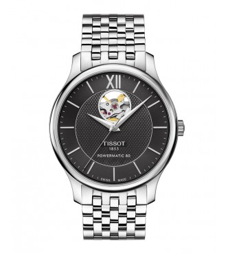 TISSOT Classic TRADITION/GR/A/STEEL/BLACK DIAL