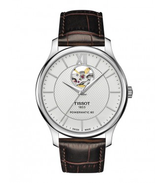 TISSOT Classic TRADITION/GR/A/STEEL/LEA.BROWN/SILVER