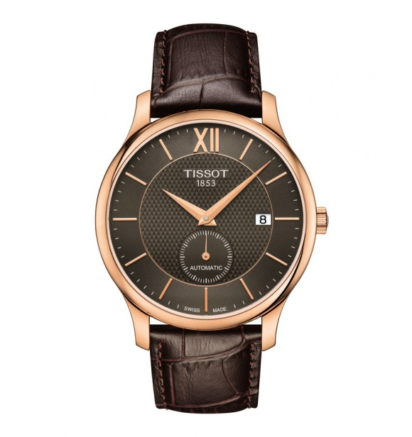 TISSOT Classic TRADITION PS/GR/A/ROSA/LEA.BROWN/ANTHRAC