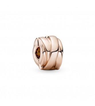 789502C00-Clip en Pandora Rose Cintas Pulidas