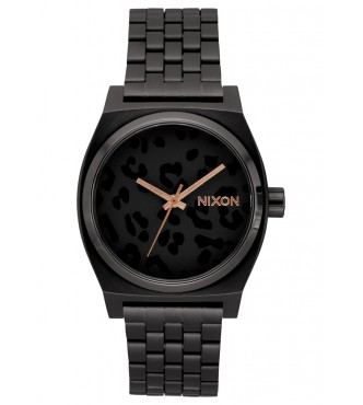 NIXON TIME TELLER / ALL BLACK / CHEETAH A0452125