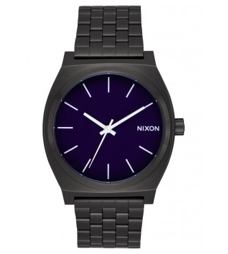 NIXON TIME TELLER / ALL BLACK / DARK BLUE A0452668