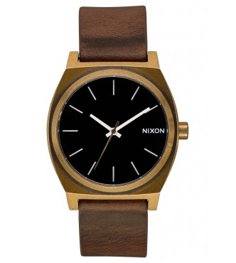 NIXON TIME TELLER / BRASS / BLACK / BROWN A0453053