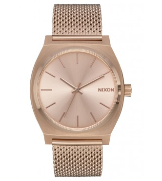 NIXON Time Teller Milanese All Rose Gold A1187897
