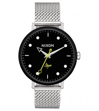 NIXON Arrow Milanese Black / Abysse A12382971