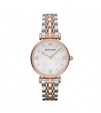 EMPORIO ARMANI AR1683 GIANNI T-BAR CLASSIC WATCH MUJER