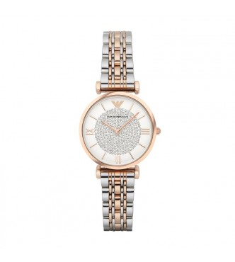 EMPORIO ARMANI AR1926 GIANNI T-BAR RETRO WATCH MUJER