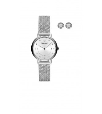ARMANI WATCHES MODERN SQUARE SILVER MEN AR80029
