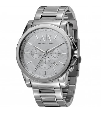 ARMANI EXCHANGE AX2058 OUTERBANKS SILVER SMART MEN