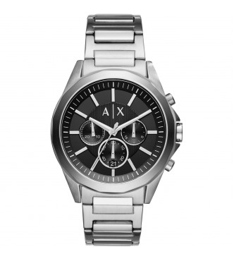ARMANI EXCHANGE AX2600 DREXLER SILVER SMART MEN