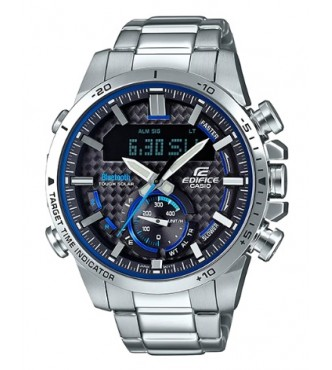 CASIO ECB-800D-1AEF BLE LCD Chrono with Speed Indicator EDIFICE PREMIUM