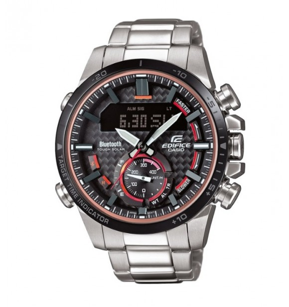 CASIO ECB-800DB-1AEF BLE LCD Chrono with Speed Indicator EDIFICE PREMIUM
