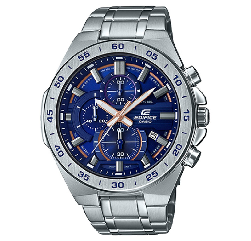 Face 564d 2avuef Flat Efr With New Edifice Casio Bezel DeW9YH2IE