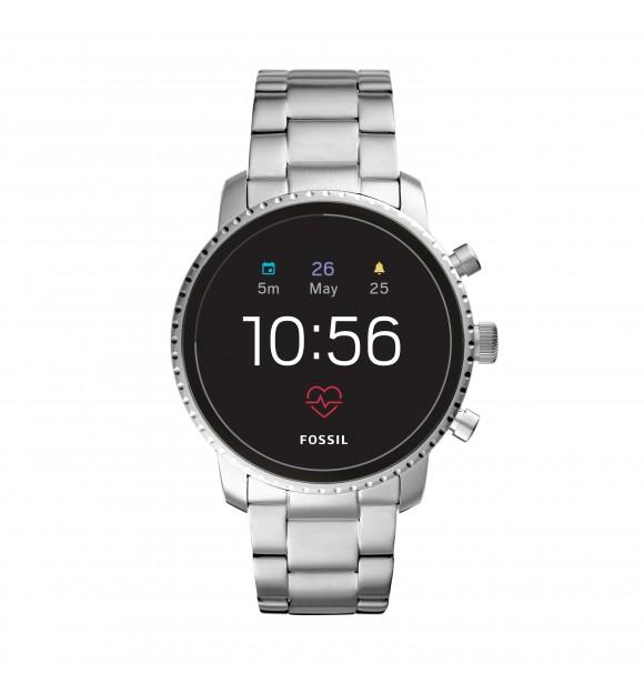 FOSSIL WEARABLES FTW4011 Gen 4 Smartwatch - Q Explorist HR Steel RELOJ HOMBRE
