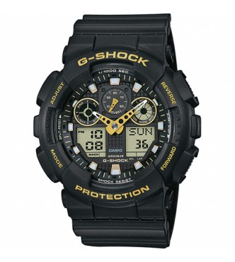 CASIO G-SHOCK Additional Black&Gold color GA-100GBX-1A9ER