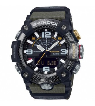 CASIO G-SHOCK New MUDMASTER Carbon Core Guard & Quad Sensor GG-B100-1A3ER