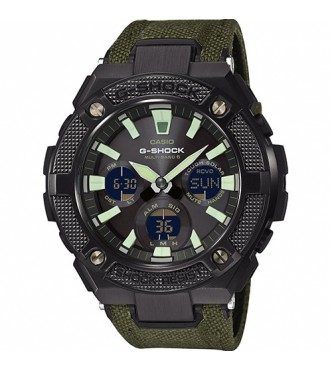 CASIO GST-W130BC-1A3ER G-STEEL Military Street (New bezel design+Codura Nylon band) G-SHOCK STYLE SERIES
