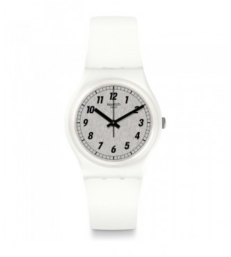 SWATCH SOMETHING WHITE 1801 Time To Swatch GW194 Gent Standard