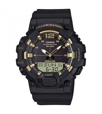 CASIO HDC-700-9AVEF Casio Collection 2H combi front light world time 10years battery