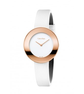 CHIC PO LY PVD5N WHT SATIN WHT DIAL