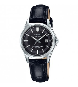 CASIO New Sapphire Basic for Ladies LTS-100 Leather band Casio Collection LTS-100L-1AVEF