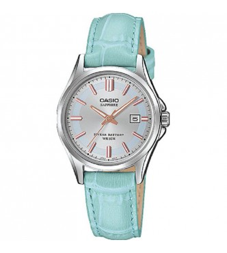 CASIO New Sapphire Basic for Ladies LTS-100 Leather band Casio Collection LTS-100L-2AVEF
