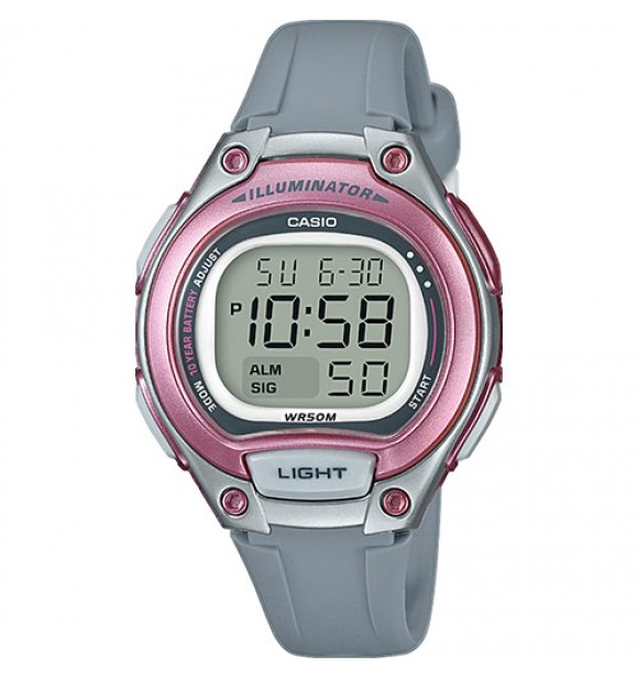 Casio LW-203-8AVEF Front Light Digital 10year battery 5WR  Casio Collection