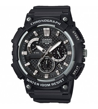 CASIO MCW-200H-1AVEF Casio Collection Chrono Retrograde 3D Dial