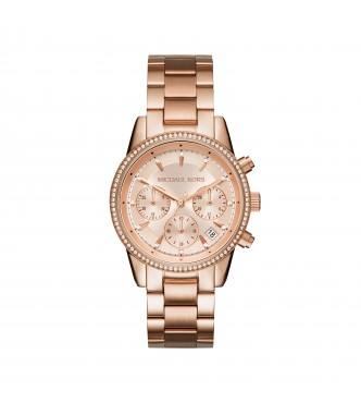 MICHAEL KORS MK6357 RITZ ROSE GOLD JETSET WOMEN