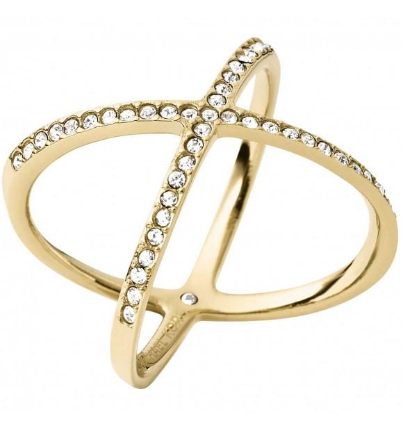 MICHAEL KORS JEWELRY MKJ4171710 BRILLIANCE RING GOLD WOMEN