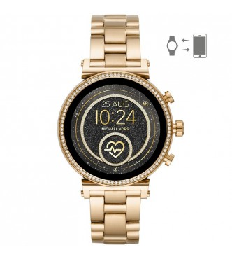 MICHAEL KORS ACCESS  SOFIE MKT5062 GOLD STAINLESS STEEL GOLD STAINLESS STEEL  FULL DISPLAY/RAVEN 41MM 3ATM
