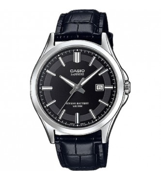 CASIO MTS-100L-1AVEF New Sapphire Basic MTS-100 Leather band Casio Collection